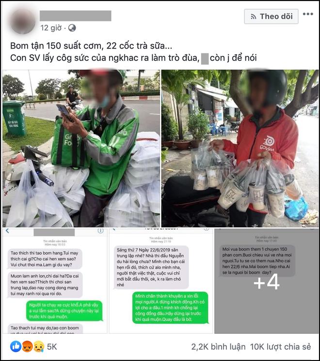 Xuất hiện câu chuyện nữ sinh Sài Gòn boom 150 hộp cơm và 22 ly trà sữa khiến dân mạng tranh cãi: Trò ác lặp lại hay chỉ câu like? - Ảnh 1.
