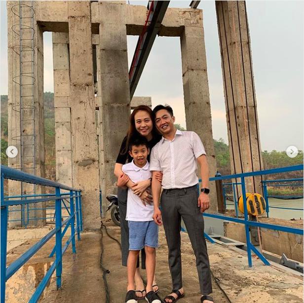 Hành động khó hiểu của Đàm Thu Trang sau khi đăng ảnh chúc mừng sinh nhật Subeo - Ảnh 2.