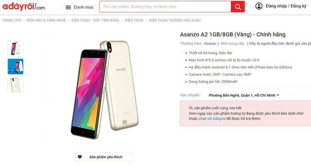 Một số nhà bán lẻ bắt đầu gỡ sản phẩm Asanzo khỏi kệ hàng - Ảnh 2.