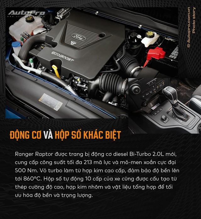 11 điểm chất nhất của Ford Ranger Raptor lý giải cơn sốt siêu bán tải - Ảnh 11.