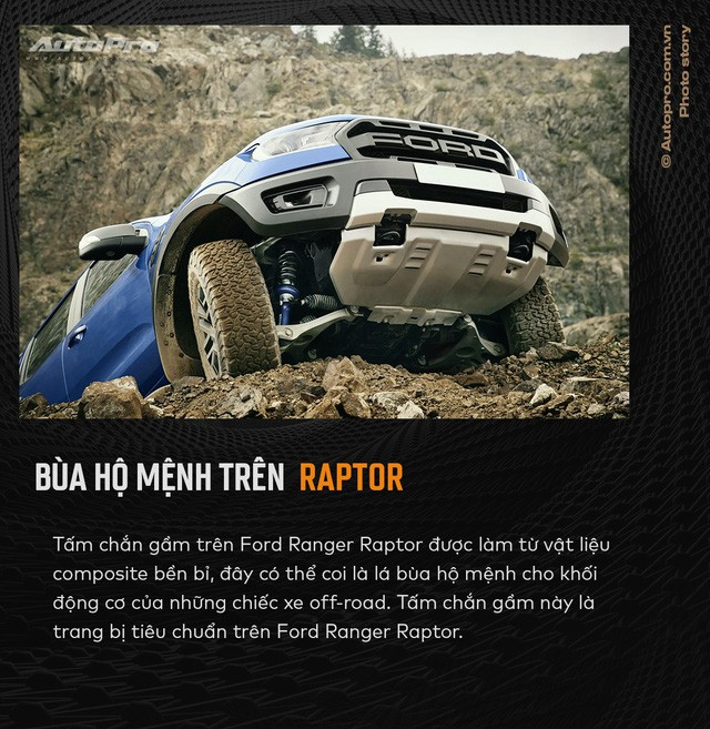 11 điểm chất nhất của Ford Ranger Raptor lý giải cơn sốt siêu bán tải - Ảnh 5.