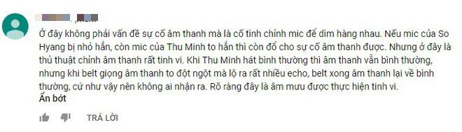 Thu Minh bị khán giả chỉ trích nặng nề vì nghi chơi xấu diva Hàn Quốc So Hyang - Ảnh 8.