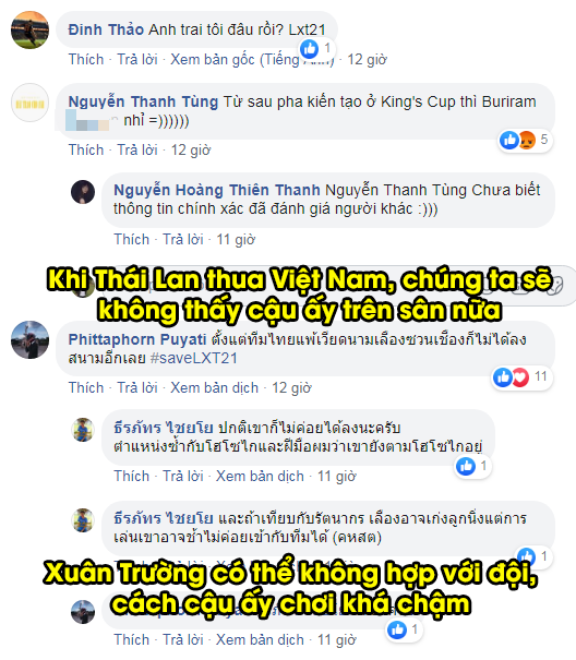 CĐV Buriram United nói lời tạm biệt Xuân Trường: Từ khi Thái Lan thua Việt Nam, cậu ấy chẳng còn xuất hiện ở đây nữa - Ảnh 1.