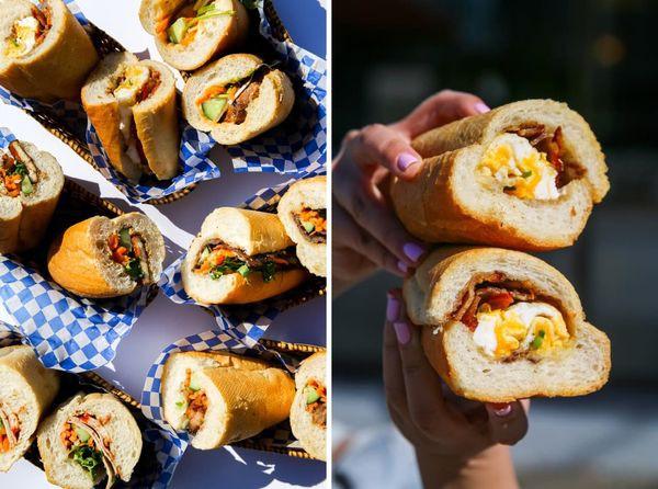 Chàng trai gốc Việt mở xe bán bánh mì gây chú ý tại Canada - Ảnh 3.
