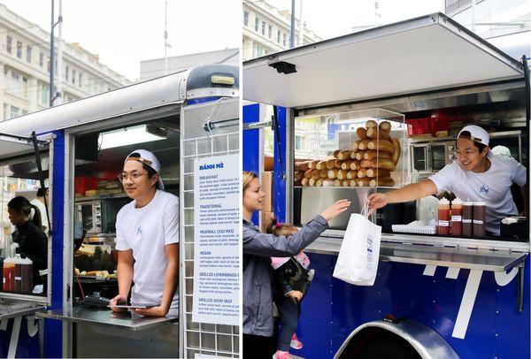 Chàng trai gốc Việt mở xe bán bánh mì gây chú ý tại Canada - Ảnh 6.