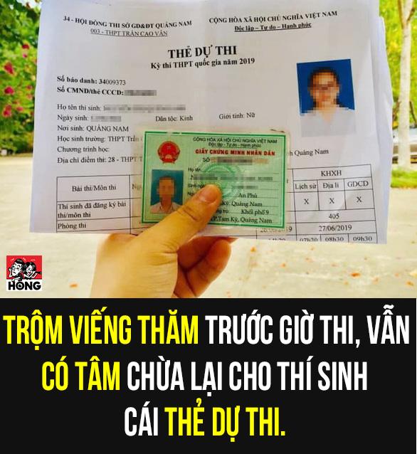 Trộm vào nhà vơ vét tiền bạc, chừa lại chứng minh nhân dân và thẻ dự thi của nữ sinh - Ảnh 1.