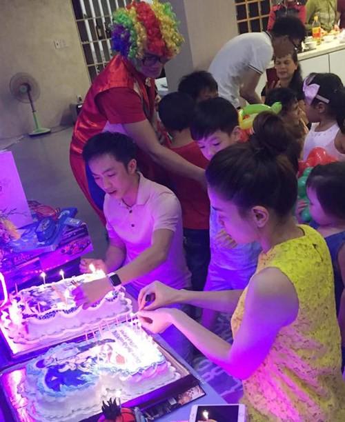 Dù gia đình ly tán, Subeo vẫn được tận hưởng 5 sinh nhật trọn vẹn với sự hiện diện của cả bố lẫn mẹ - Ảnh 2.