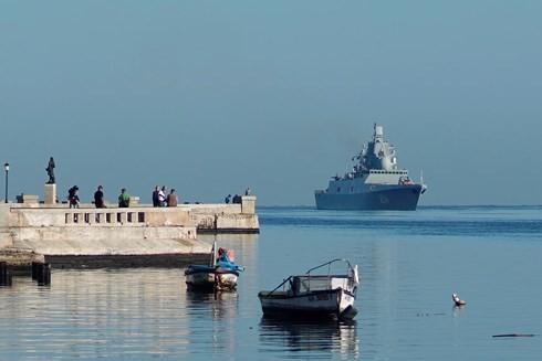 """Tàu chiến Nga xuất hiện ở """"cửa ngõ"""" nước Mỹ, Washington vội điều tàu giám sát - Ảnh 2."""