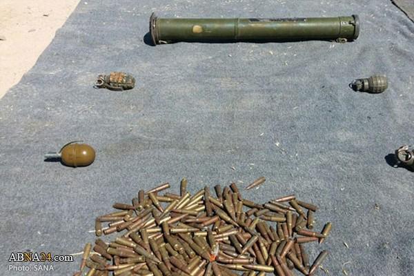 Syria: Bên trong kho vũ khí khổng lồ của khủng bố mới được phát hiện ở Damascus và Quneitra - Ảnh 1.