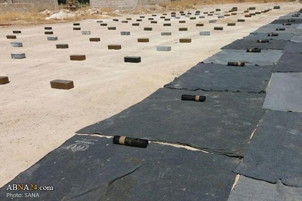 Syria: Bên trong kho vũ khí khổng lồ của khủng bố mới được phát hiện ở Damascus và Quneitra - Ảnh 2.