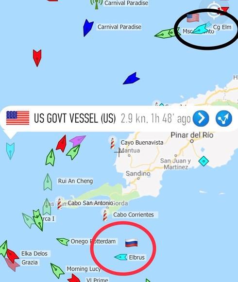 """Tàu chiến Nga xuất hiện ở """"cửa ngõ"""" nước Mỹ, Washington vội điều tàu giám sát - Ảnh 3."""