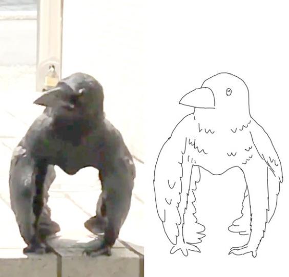 Clip gây lú cực mạnh: Tưởng khỉ đột mỏ nhọn đứng phơi nắng nhưng sự thật khác biệt hoàn toàn - Ảnh 4.