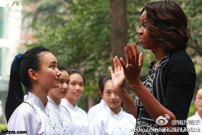 Sao nhí duy nhất Cbiz đỗ đại học Top 1 Trung Quốc: Tiếp đón phu nhân Obama, sở hữu nhan sắc thanh tú trời phú - Ảnh 5.
