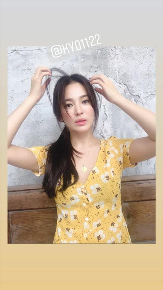 Bất ngờ với diện mạo lạ lùng của Song Hye Kyo sau khi tin ly hôn Song Joong Ki được phủ nhận, ai cũng phải xuýt xoa - Ảnh 2.