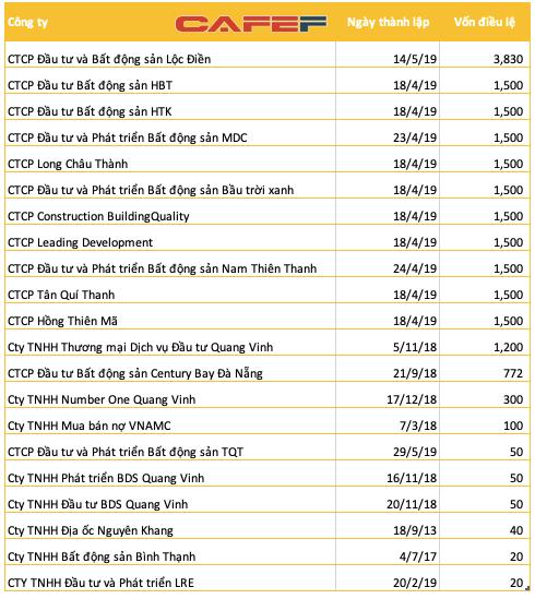 Lập cùng lúc hơn chục công ty với tổng vốn gần 19.000 tỷ đồng, Tân Hiệp Phát muốn chơi lớn với mảng bất động sản? - Ảnh 2.