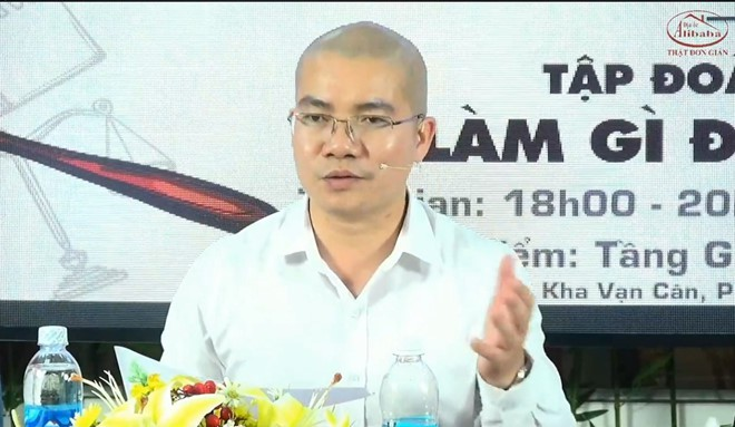 Các phát ngôn xúc phạm của Chủ tịch Alibaba Nguyễn Thái Luyện đang được xác minh, điều tra - Ảnh 1.