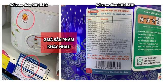 Sunhouse lên tiếng về hình ảnh nồi cơm điện xuất xứ Trung Quốc nhưng dán tem hàng Việt: Do đối tác ghi nhầm thông tin - Ảnh 3.