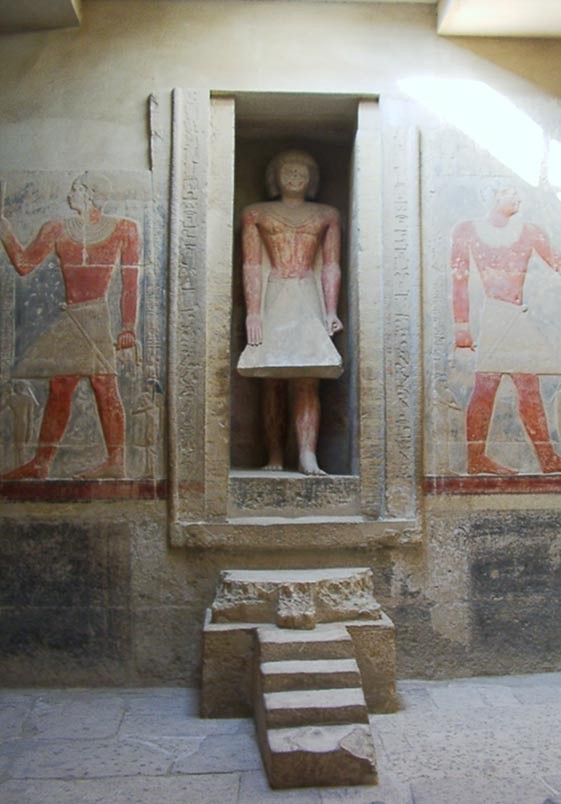 Cửa giả của người Ai Cập: Cánh cổng sang thế giới bên kia - Ảnh 1.