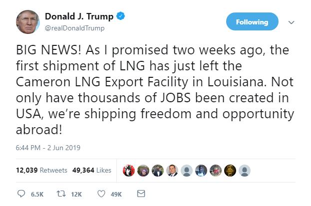 Chuyến tàu chở tự do và cơ hội: TT Trump đăng dòng tweet kì lạ về 1 mặt hàng bị TQ đánh thuế nặng - Ảnh 1.