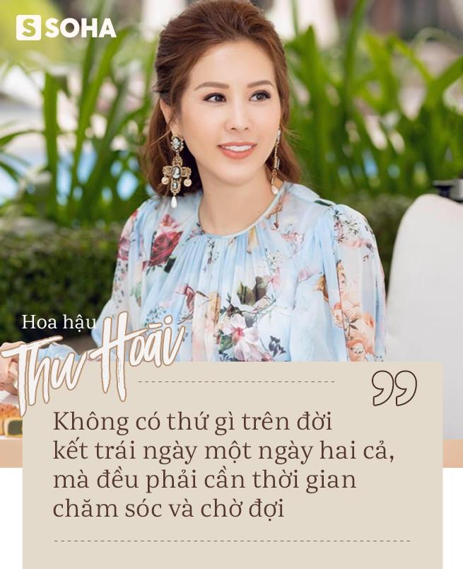 Hoa hậu Thu Hoài: Nếu chỉ còn 1 ngày để sống, tôi sẽ đổi tất cả những gì mình có để con được bình an trong tương lai - Ảnh 1.