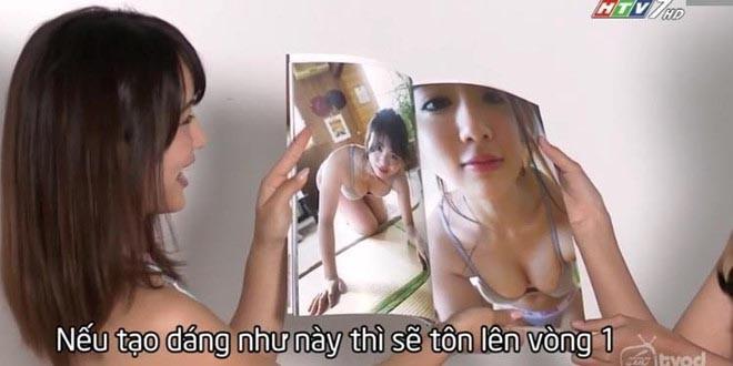 Sao Nhật hướng dẫn thí sinh Việt mặc bikini, tạo dáng phản cảm trên HTV là ai? - Ảnh 1.