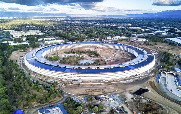 Hoá ra trụ sở phi thuyền của Apple không nằm trên mặt đất - Ảnh 1.