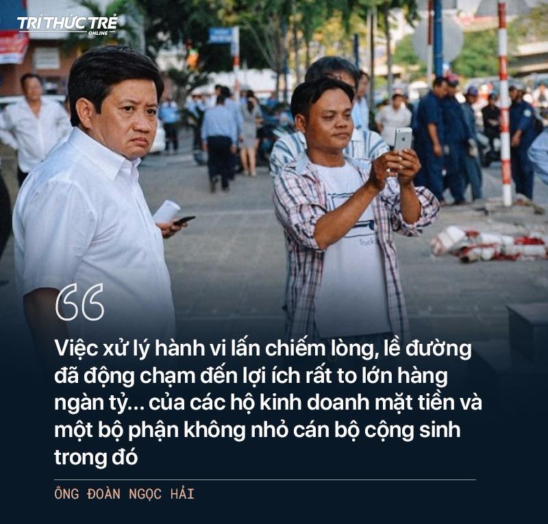 Ông Đoàn Ngọc Hải: Từ cuộc chiến dẹp vỉa hè năm 2017 đến 2 lần từ chức - Ảnh 19.