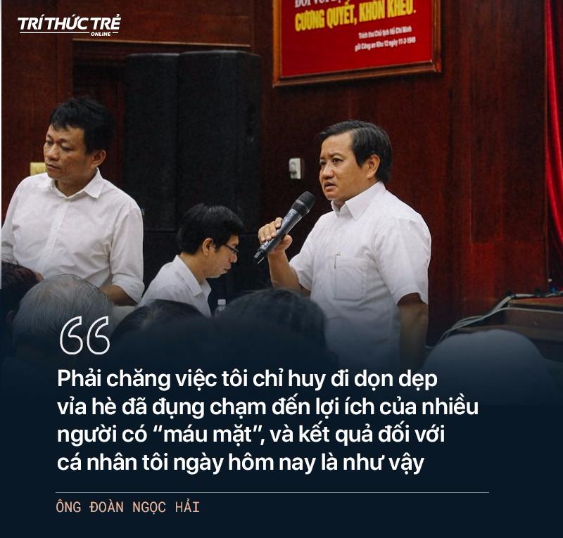 Ông Đoàn Ngọc Hải: Từ cuộc chiến dẹp vỉa hè năm 2017 đến 2 lần từ chức - Ảnh 27.