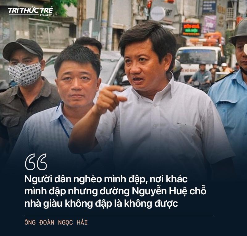 Ông Đoàn Ngọc Hải: Từ cuộc chiến dẹp vỉa hè năm 2017 đến 2 lần từ chức - Ảnh 5.