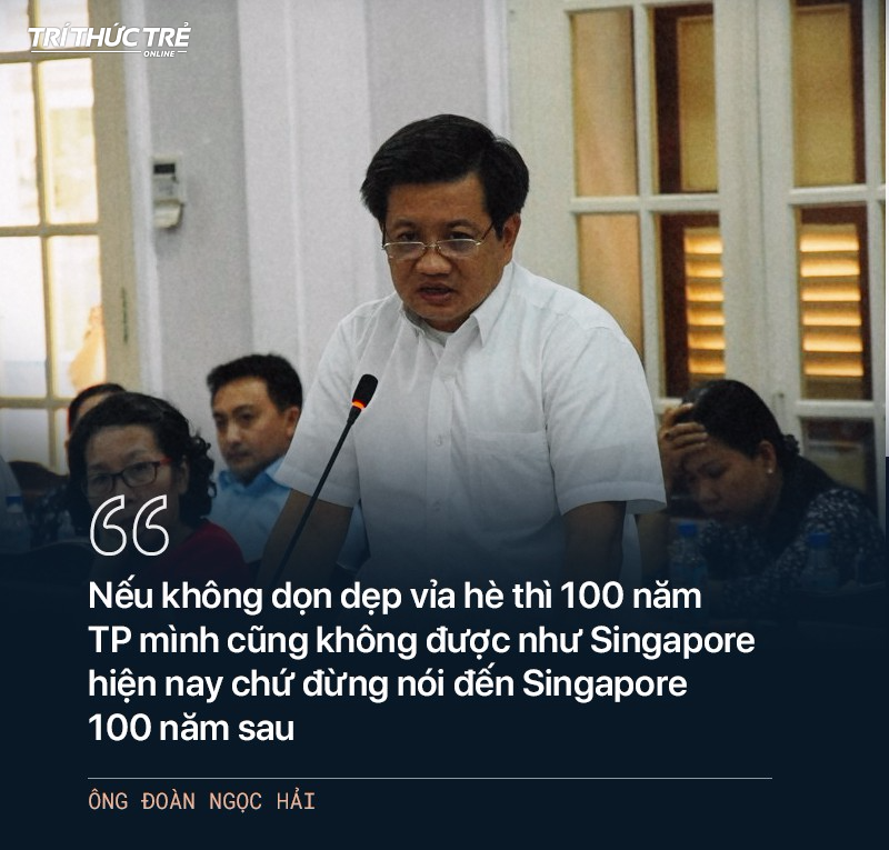 Ông Đoàn Ngọc Hải: Từ cuộc chiến dẹp vỉa hè năm 2017 đến 2 lần từ chức - Ảnh 23.