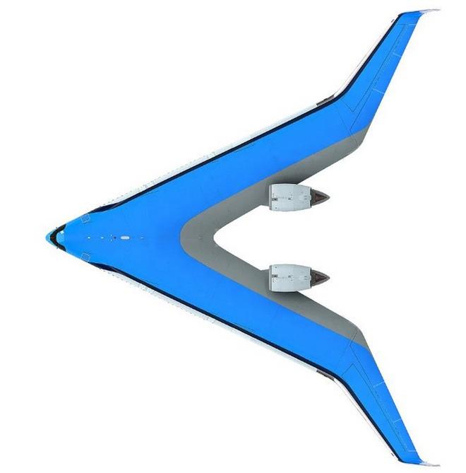 Trong tương lai, hành khách có thể ngồi những chiếc máy bay có hình V độc đáo như thế này - Ảnh 2.