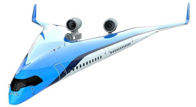 Trong tương lai, hành khách có thể ngồi những chiếc máy bay có hình V độc đáo như thế này - Ảnh 3.