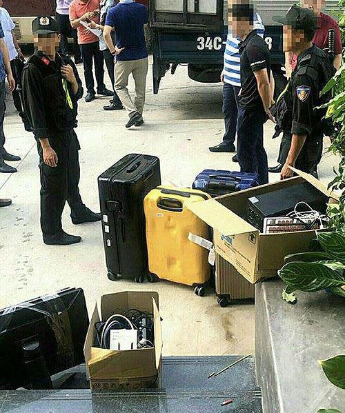 Đột kích sào huyệt nhóm tội phạm công nghệ cao, bắt 22 đối tượng người Trung Quốc - Ảnh 1.