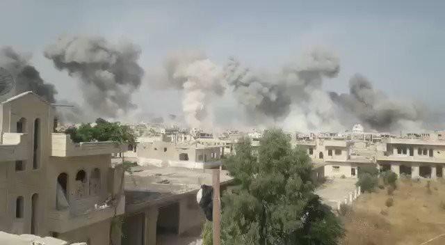 Phiến quân chết như ngả rạ - Mỹ, Đức có hành động lạ ở Syria - Ảnh 1.