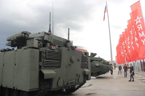 Nhiều khí tài quân sự hiện đại được giới thiệu tại Army-2019 - Ảnh 13.