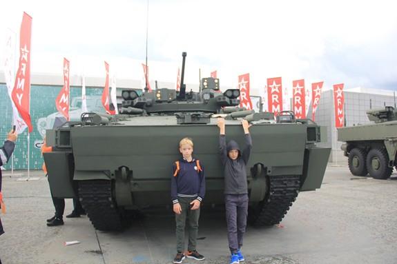 Nhiều khí tài quân sự hiện đại được giới thiệu tại Army-2019 - Ảnh 33.