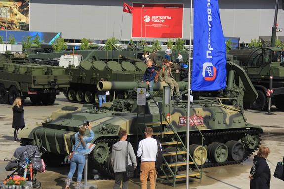 Nhiều khí tài quân sự hiện đại được giới thiệu tại Army-2019 - Ảnh 34.