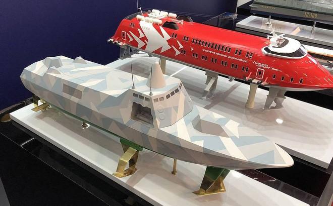 Tàu tên lửa tàng hình Antares RA Nga sao chép Visby Thụy Điển? - Ảnh 1.