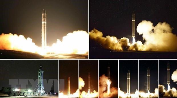 USFK: Tên lửa Hwasong-15 có thể tấn công mọi địa điểm ở lục địa Mỹ - Ảnh 1.