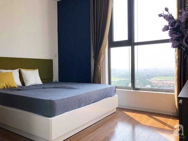Căn hộ 96m² trên tầng 32 ở Hà Nội đơn giản nhưng vẫn hút ánh nhìn nhờ cách phối màu trẻ trung - Ảnh 12.