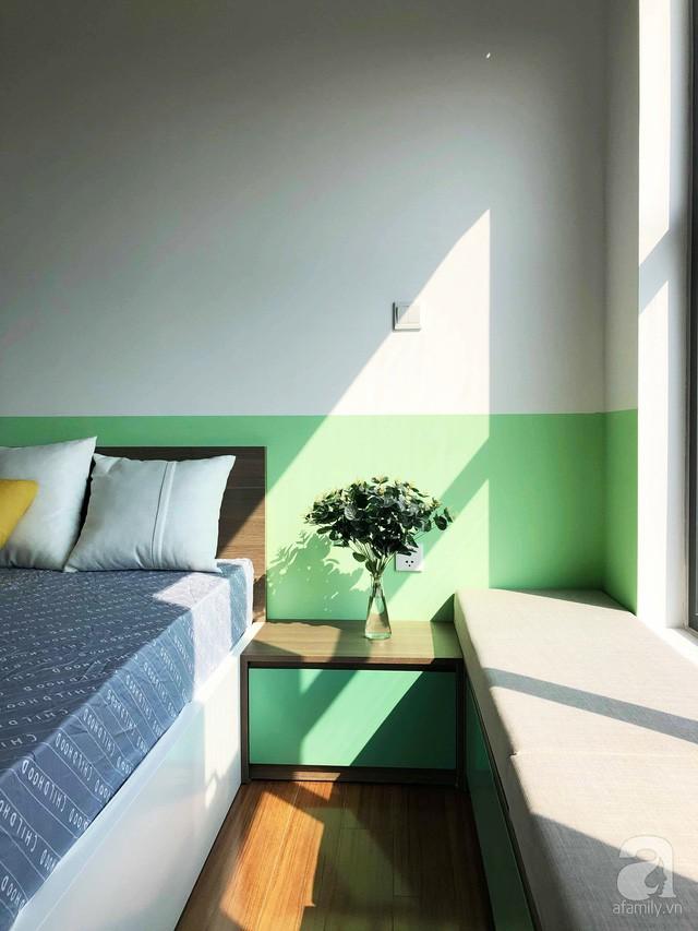 Căn hộ 96m² trên tầng 32 ở Hà Nội đơn giản nhưng vẫn hút ánh nhìn nhờ cách phối màu trẻ trung - Ảnh 22.