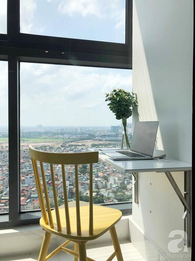 Căn hộ 96m² trên tầng 32 ở Hà Nội đơn giản nhưng vẫn hút ánh nhìn nhờ cách phối màu trẻ trung - Ảnh 4.