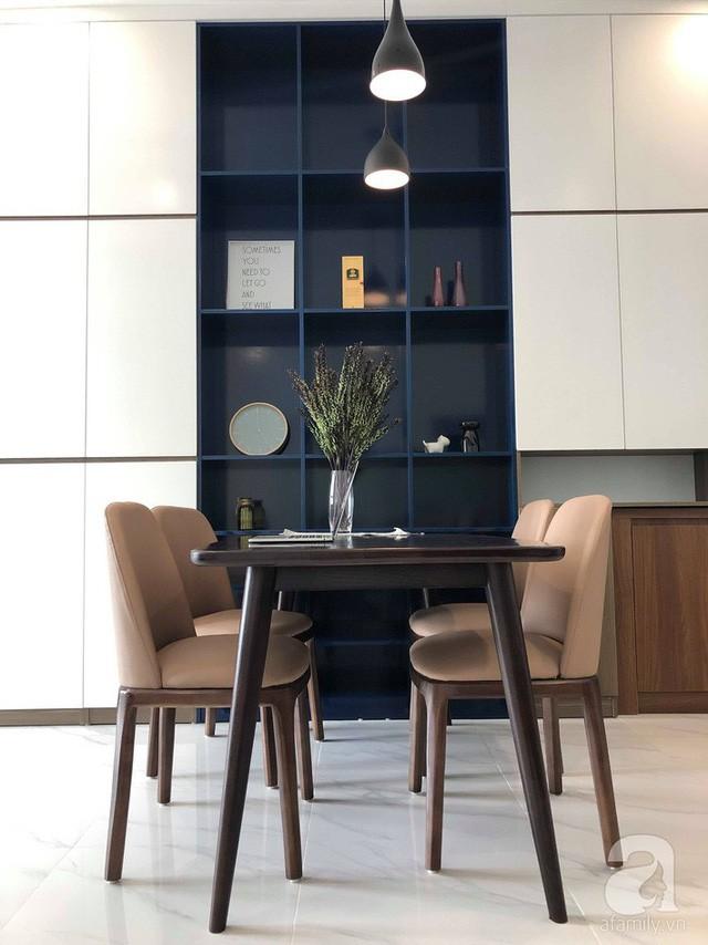 Căn hộ 96m² trên tầng 32 ở Hà Nội đơn giản nhưng vẫn hút ánh nhìn nhờ cách phối màu trẻ trung - Ảnh 9.