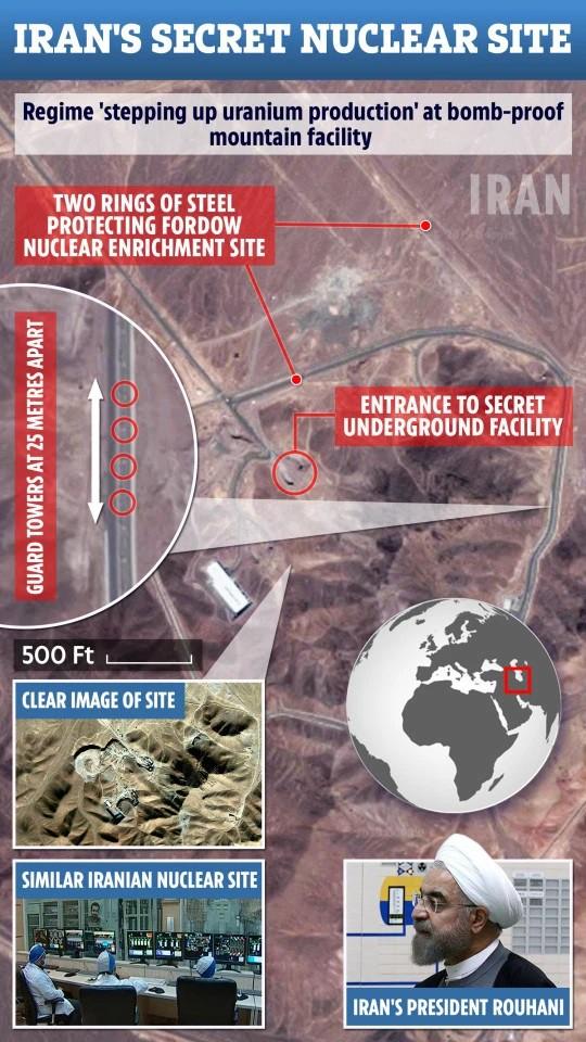 Iran gợi đòn công khai cơ sở hạt nhân: Pháo đài bất khả xâm phạm, vũ khí Mỹ phải bó tay? - Ảnh 2.