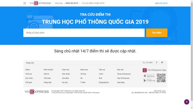 Hướng dẫn tra cứu điểm thi THPT Quốc gia 2019 nhanh nhất và chính xác nhất - Ảnh 2.