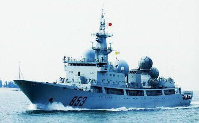 [ẢNH] Tàu trinh sát điện tử Trung Quốc chen ngang cuộc tập trận cực lớn của Mỹ và đồng minh - Ảnh 11.