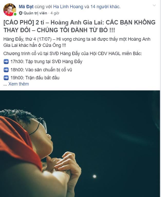Báo động đỏ cho Hoàng Anh Gia Lai: Cổ động viên đã hết kiên nhẫn, tuyên bố sẵn sàng từ bỏ đội bóng và giải tán - Ảnh 2.