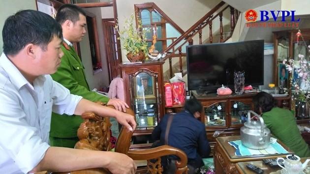 Hơn 100 cảnh sát đang bảo vệ khu vực thực nghiệm hiện trường vụ nữ sinh giao gà  ở Điện Biên - Ảnh 7.