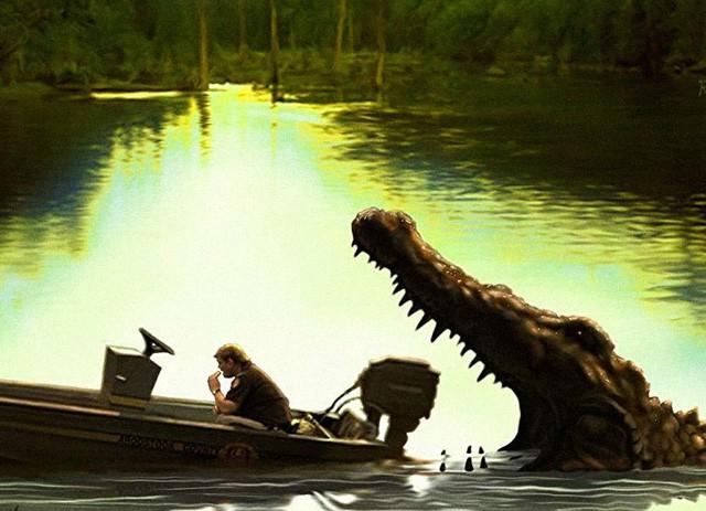 6 bộ phim về hiểm họa cá sấu đáng xem nhất trên màn ảnh - Ảnh 2.