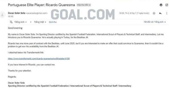 Bạn thân siêu sao Ronaldo lại đánh tiếng muốn đến V-League - Ảnh 1.